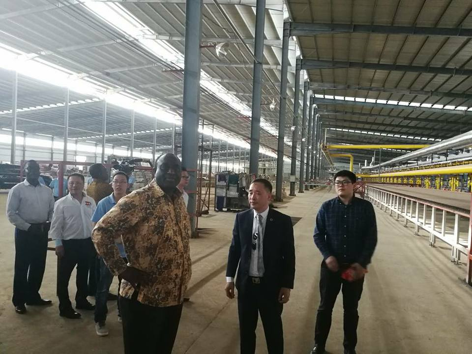 Trade And Industry Minister Tours Sentuo Steel Amp Ceramics