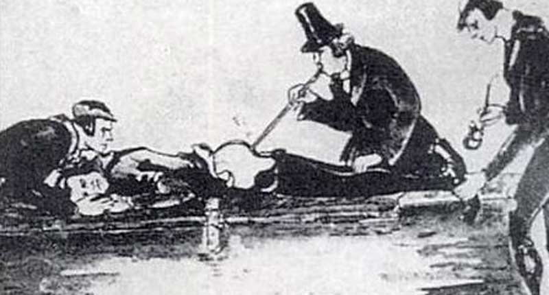 Did you know doctors used to blow smoke into people's rectums in the late  1700s to resuscitate supposedly dead people & near-drowning victims? -  BlakkPepper